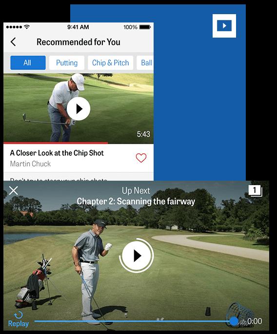 Golfshot Pro app screenshot