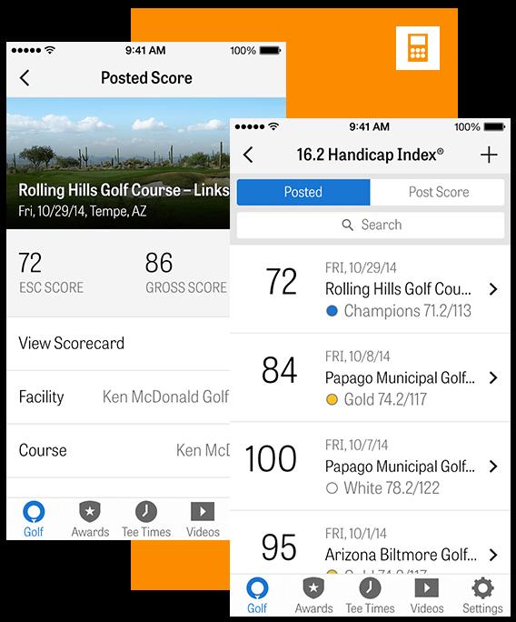 Golfshot app