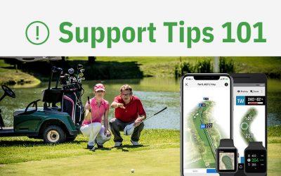 Golfshot Support: Keeping Golfshot Active on Apple Watch